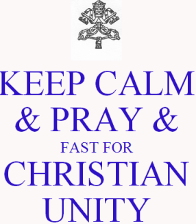 Reformation Sunday: Pray and Fast for Christian Unity